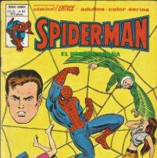 Cómics: SPIDERMAN EL HOMBRE ARAÑA V3 Nº 63 EL VUELO OSCURO DE LA MUERTE ED. VÉRTICE. AÑO 1979. Lote 273606693