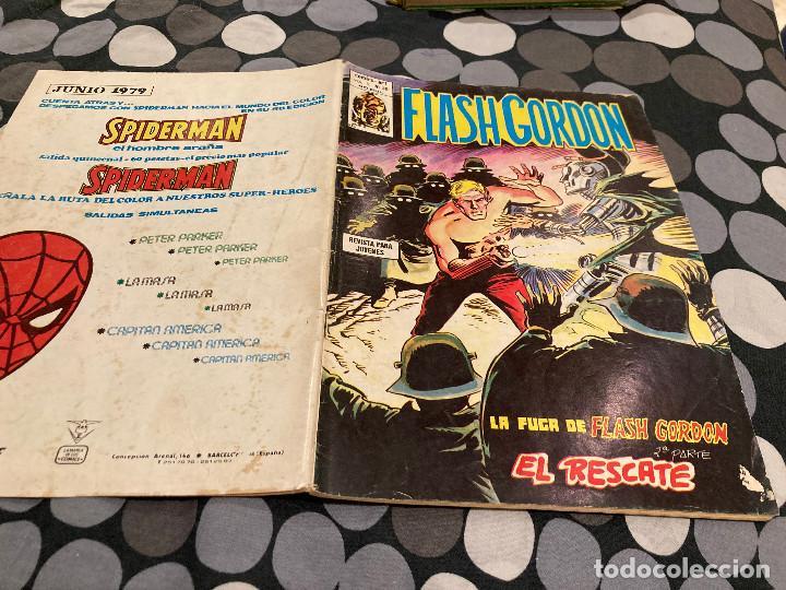 FLASH GORDON - VOL1 Nº 39 LA FUGA DE FLASH GORDON 2ª PARTE - EDITORIAL VERTICE 1974 (Tebeos y Comics - Vértice - Flash Gordon)