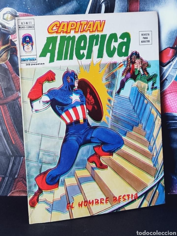 CASI EXCELENTE ESTADO CAPITAN AMERICA 11 VOL III MUNDI COMICS VERTICE (Tebeos y Comics - Vértice - Capitán América)