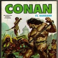 Cómics: CONAN EXTRA-1 (VERTICE 1980) 164 PAGINAS.. Lote 274557628