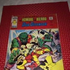 Cómics: EL HOMBRE DE HIERRO Y DAN DEFENSOR - V.2 Nº 34 - EDICIONES VERTICE - AÑO 1975 - REGULAR ESTADO. Lote 274700308