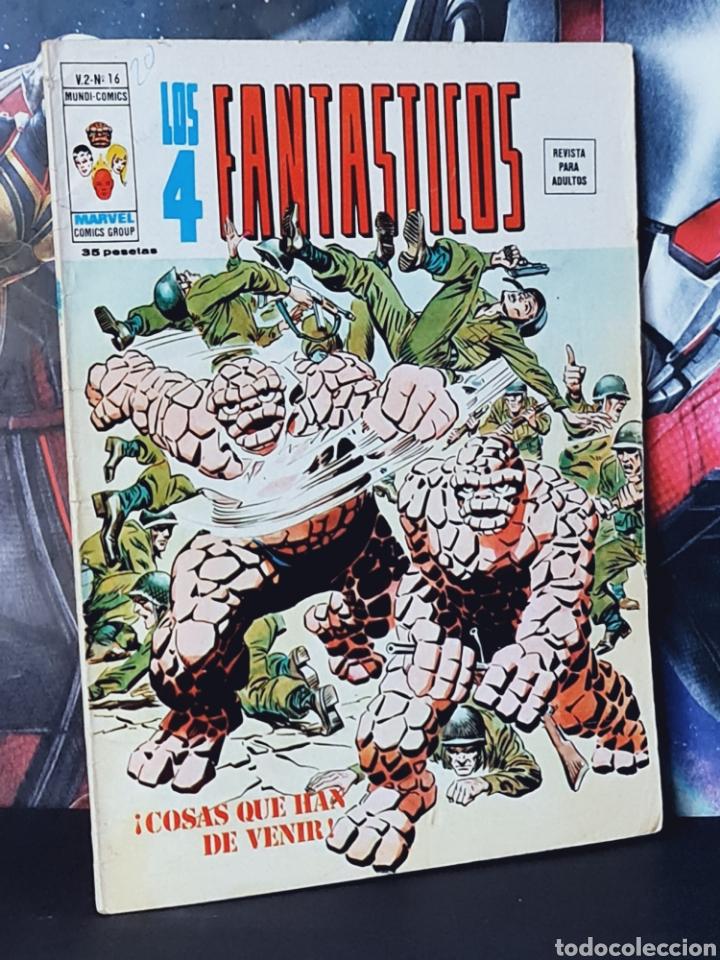 BUEN ESTADO LOS 4 FANTASTICOS 16 VOL II MUNDI COMICS EDICIONES VERTICE (Tebeos y Comics - Vértice - 4 Fantásticos)