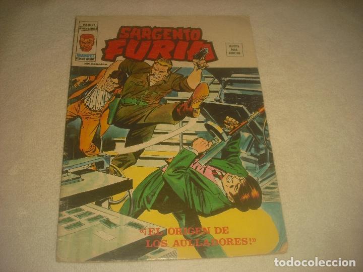SARGENTO FURIA V2 , N. 23. EL ORIGEN DE LOS AULLADORES ! (Tebeos y Comics - Vértice - Furia)