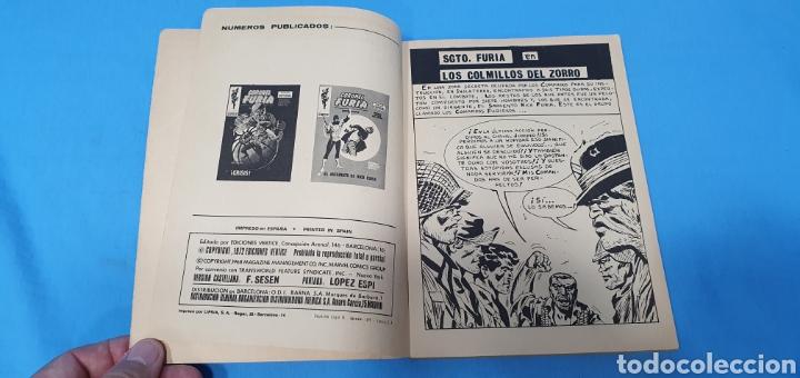 Cómics: SARGENTO FURIA - LOS COLMILLOS DEL ZORRO - MARVEL COMOCS GROUP - VÉRTICE - Foto 2 - 275034423