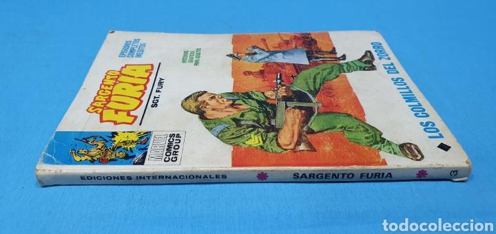 Cómics: SARGENTO FURIA - LOS COLMILLOS DEL ZORRO - MARVEL COMOCS GROUP - VÉRTICE - Foto 4 - 275034423