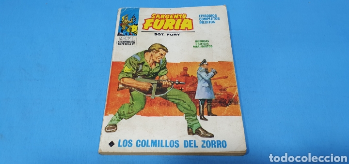 SARGENTO FURIA - LOS COLMILLOS DEL ZORRO - MARVEL COMOCS GROUP - VÉRTICE (Tebeos y Comics - Vértice - Otros)