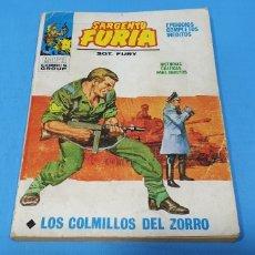 Cómics: SARGENTO FURIA - LOS COLMILLOS DEL ZORRO - MARVEL COMOCS GROUP - VÉRTICE. Lote 275034423