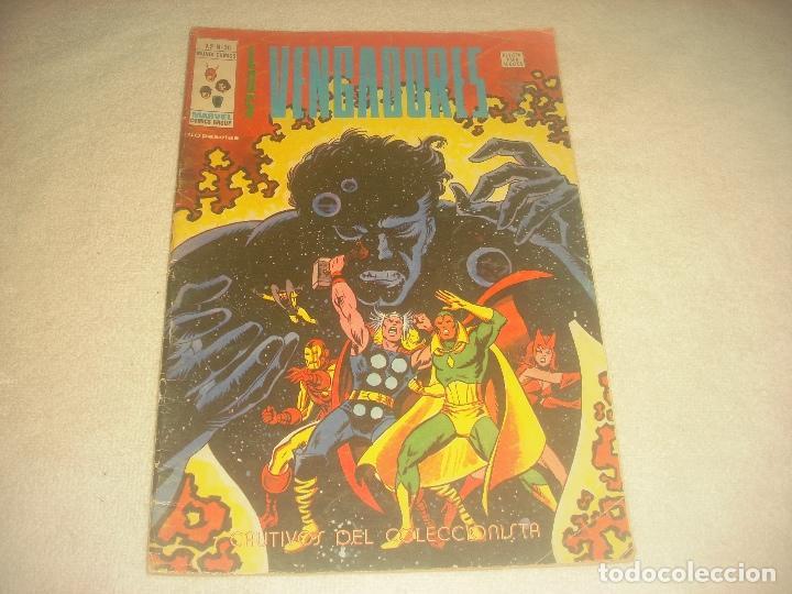 LOS VENGADORES V2 , N. 36 . CAUTIVOS DEL COLECCIONISTA. (Tebeos y Comics - Vértice - Vengadores)