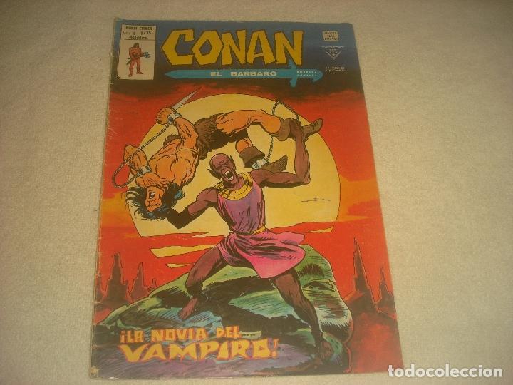 CONAN EL BARBARO, V2, N. 35 . LA NOVIA DEL VAMPIRO ! (Tebeos y Comics - Vértice - Conan)