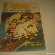 Cómics: CONAN EL BARBARO, V2, N. 15 . SOBRE LA PISTA DE LA MUJER PIRATA.. Lote 275156053