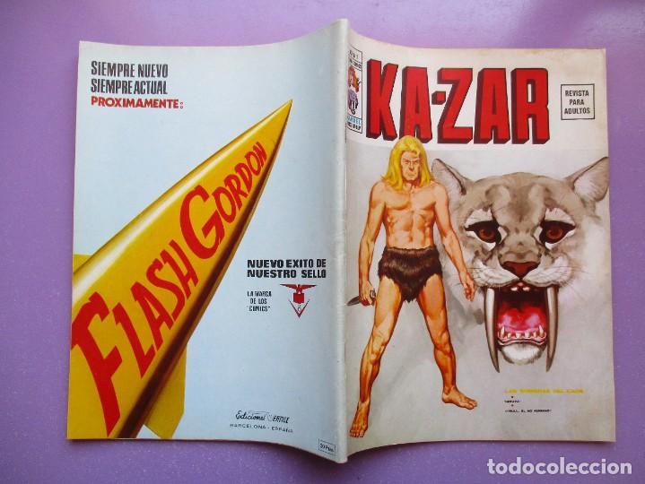 Cómics: KA- ZAR VERTICE GRAPA COLECCION COMPLETA ¡¡¡¡¡EXCELENTE ESTADO !!!! - Foto 7 - 275162488