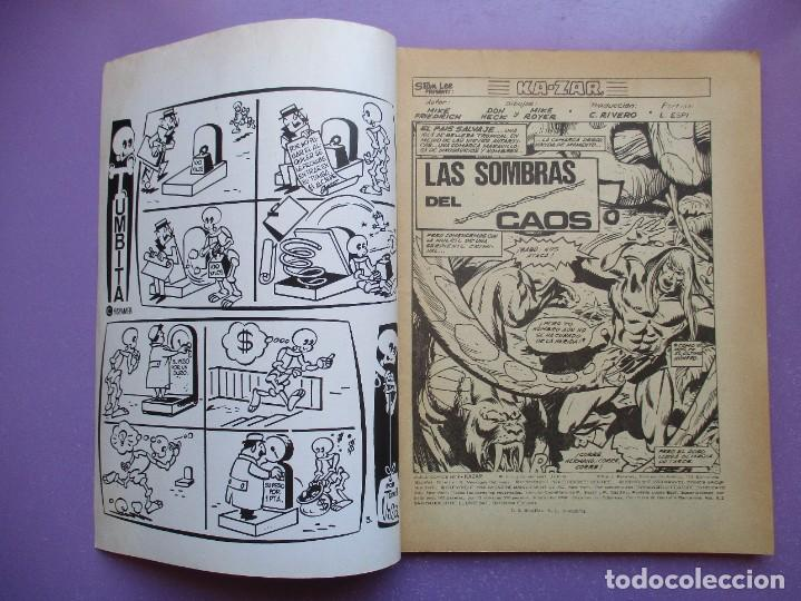 Cómics: KA- ZAR VERTICE GRAPA COLECCION COMPLETA ¡¡¡¡¡EXCELENTE ESTADO !!!! - Foto 8 - 275162488