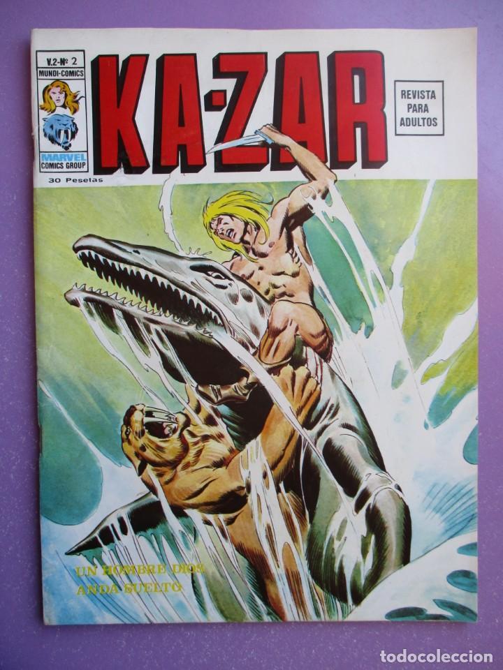 Cómics: KA- ZAR VERTICE GRAPA COLECCION COMPLETA ¡¡¡¡¡EXCELENTE ESTADO !!!! - Foto 10 - 275162488