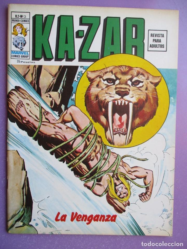 Cómics: KA- ZAR VERTICE GRAPA COLECCION COMPLETA ¡¡¡¡¡EXCELENTE ESTADO !!!! - Foto 15 - 275162488
