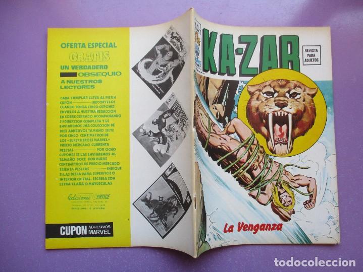 Cómics: KA- ZAR VERTICE GRAPA COLECCION COMPLETA ¡¡¡¡¡EXCELENTE ESTADO !!!! - Foto 17 - 275162488