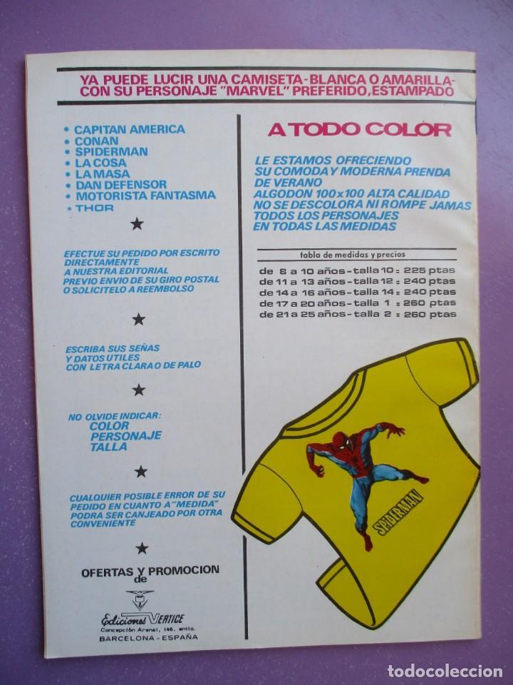 Cómics: KA- ZAR VERTICE GRAPA COLECCION COMPLETA ¡¡¡¡¡EXCELENTE ESTADO !!!! - Foto 21 - 275162488