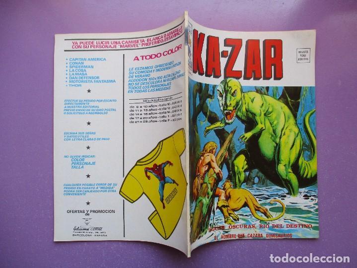 Cómics: KA- ZAR VERTICE GRAPA COLECCION COMPLETA ¡¡¡¡¡EXCELENTE ESTADO !!!! - Foto 22 - 275162488