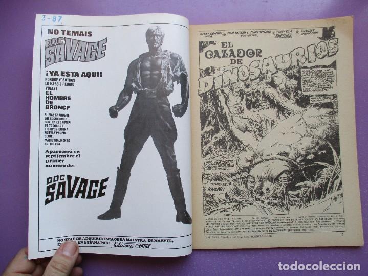 Cómics: KA- ZAR VERTICE GRAPA COLECCION COMPLETA ¡¡¡¡¡EXCELENTE ESTADO !!!! - Foto 23 - 275162488
