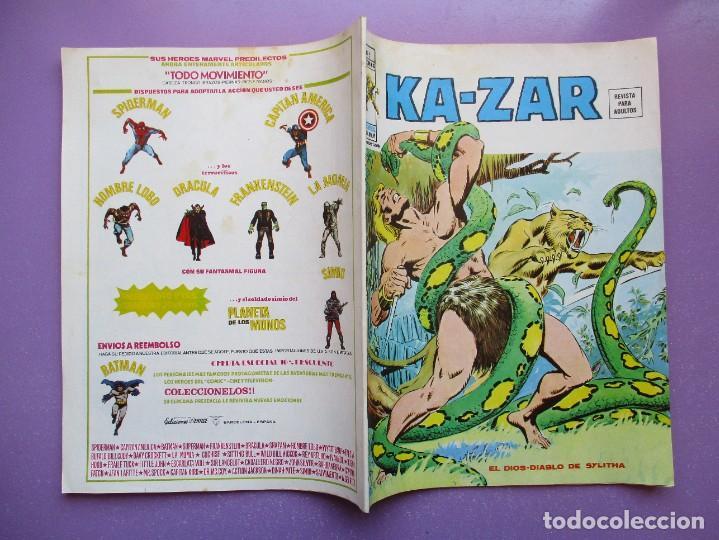 Cómics: KA- ZAR VERTICE GRAPA COLECCION COMPLETA ¡¡¡¡¡EXCELENTE ESTADO !!!! - Foto 27 - 275162488