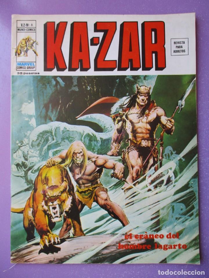 Cómics: KA- ZAR VERTICE GRAPA COLECCION COMPLETA ¡¡¡¡¡EXCELENTE ESTADO !!!! - Foto 30 - 275162488