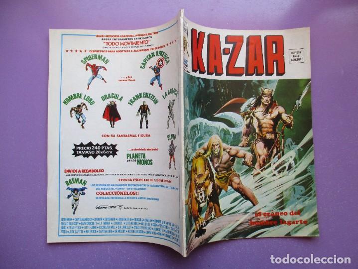 Cómics: KA- ZAR VERTICE GRAPA COLECCION COMPLETA ¡¡¡¡¡EXCELENTE ESTADO !!!! - Foto 32 - 275162488