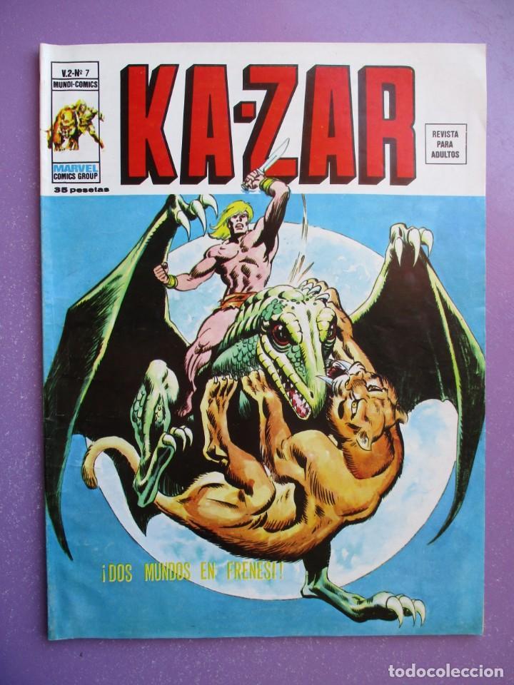 Cómics: KA- ZAR VERTICE GRAPA COLECCION COMPLETA ¡¡¡¡¡EXCELENTE ESTADO !!!! - Foto 35 - 275162488