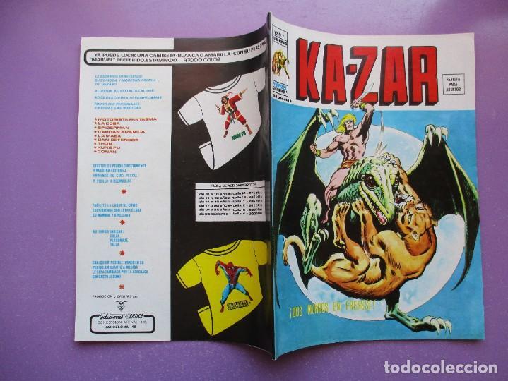 Cómics: KA- ZAR VERTICE GRAPA COLECCION COMPLETA ¡¡¡¡¡EXCELENTE ESTADO !!!! - Foto 37 - 275162488