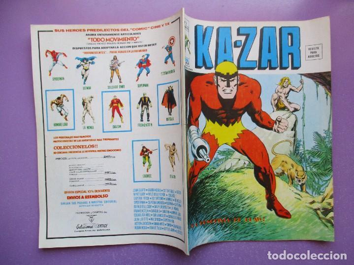 Cómics: KA- ZAR VERTICE GRAPA COLECCION COMPLETA ¡¡¡¡¡EXCELENTE ESTADO !!!! - Foto 42 - 275162488
