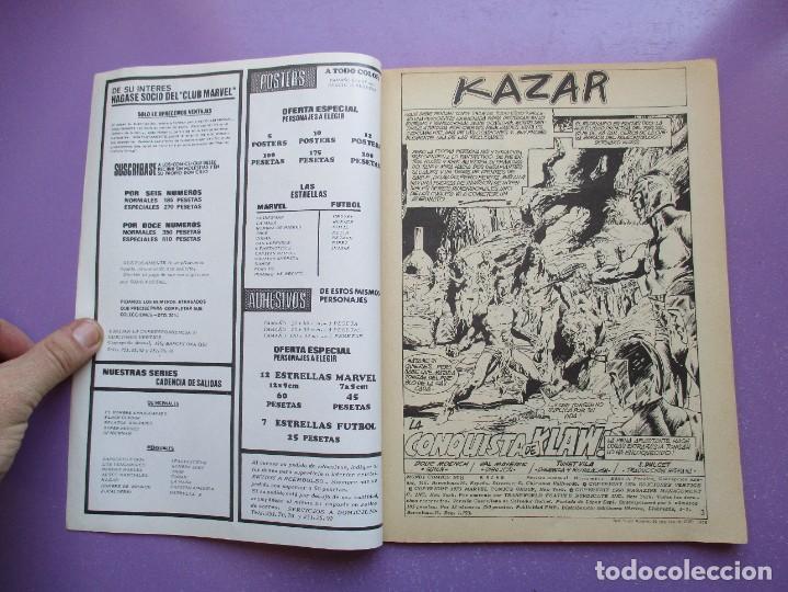 Cómics: KA- ZAR VERTICE GRAPA COLECCION COMPLETA ¡¡¡¡¡EXCELENTE ESTADO !!!! - Foto 43 - 275162488