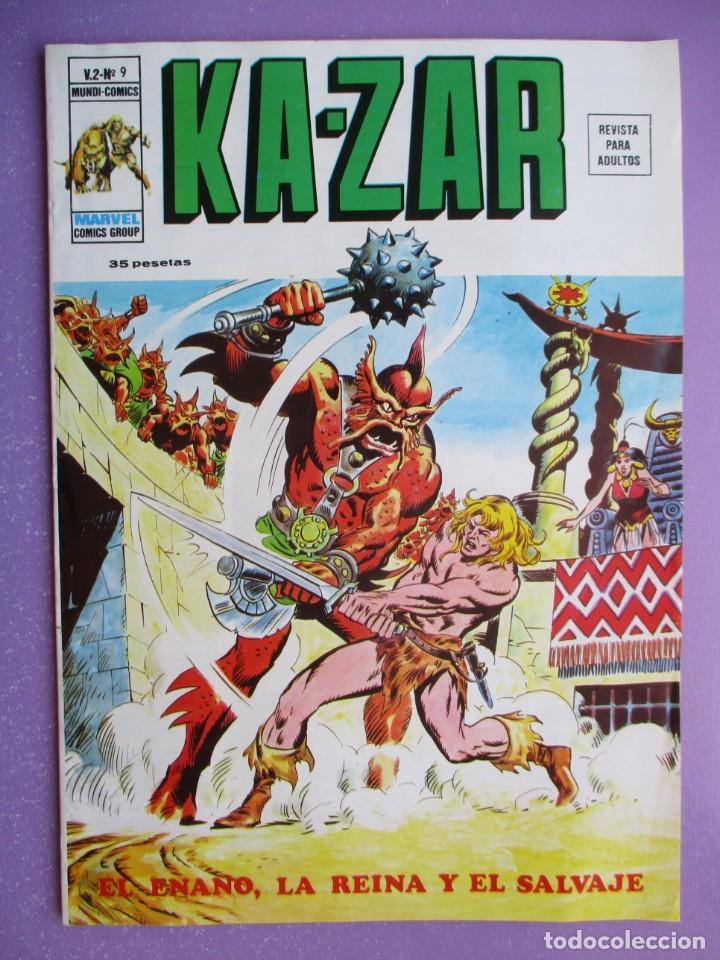 Cómics: KA- ZAR VERTICE GRAPA COLECCION COMPLETA ¡¡¡¡¡EXCELENTE ESTADO !!!! - Foto 45 - 275162488