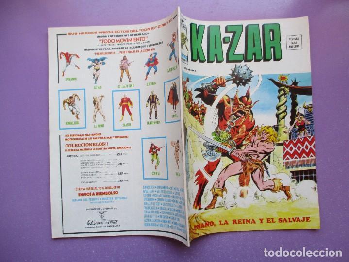 Cómics: KA- ZAR VERTICE GRAPA COLECCION COMPLETA ¡¡¡¡¡EXCELENTE ESTADO !!!! - Foto 47 - 275162488