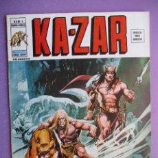 Cómics: KA- ZAR Nº 6 VERTICE GRAPA ¡¡¡¡¡EXCELENTE ESTADO !!!!. Lote 275163198