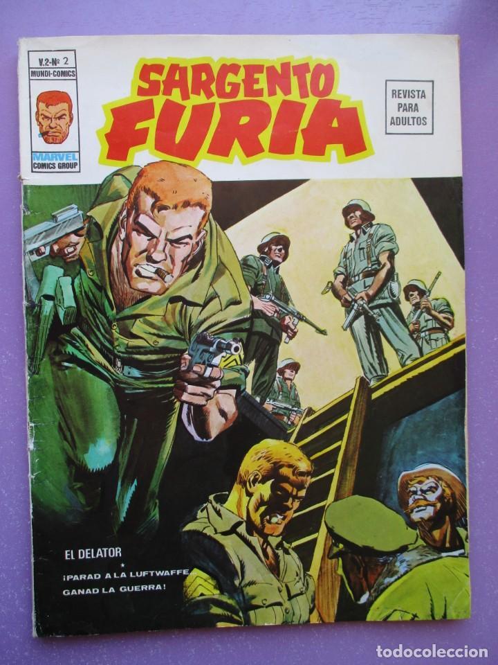 SARGENTO FURIA Nº 2 VERTICE GRAPA ¡¡¡¡¡ BUEN ESTADO !!!! (Tebeos y Comics - Vértice - V.1)