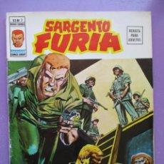 Cómics: SARGENTO FURIA Nº 2 VERTICE GRAPA ¡¡¡¡¡ BUEN ESTADO !!!!. Lote 275163523