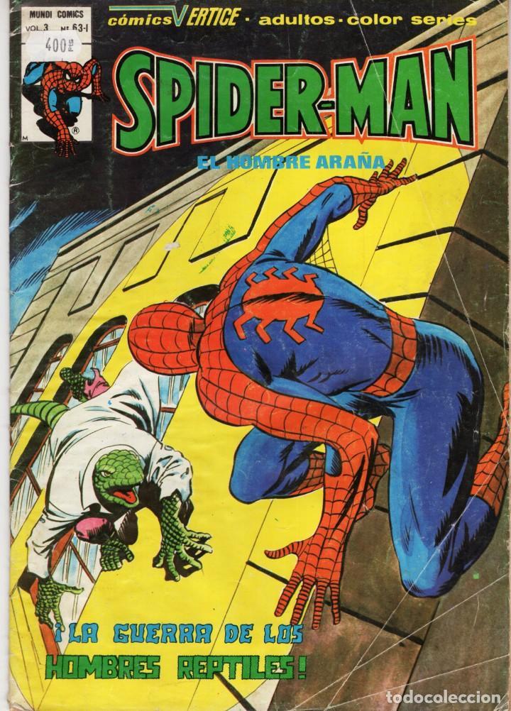 SPIDERMAN VOL. 3 Nº 63-I - VERTICE - VER DESCRIPCION - SUB02Q (Tebeos y Comics - Vértice - Patrulla X)