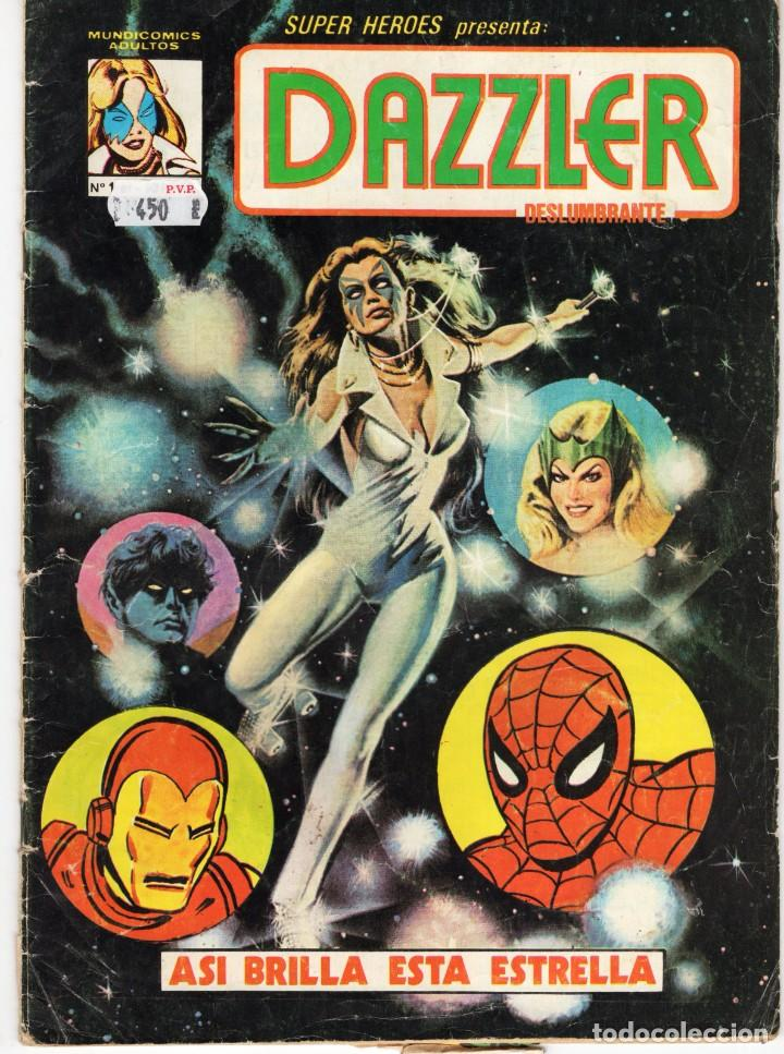 SUPER HEROES Nº 1 DAZZLER - MUNDICOMICS - VERTICE - VER DESCRIPCION - SUB02Q (Tebeos y Comics - Vértice - Surco / Mundi-Comic)