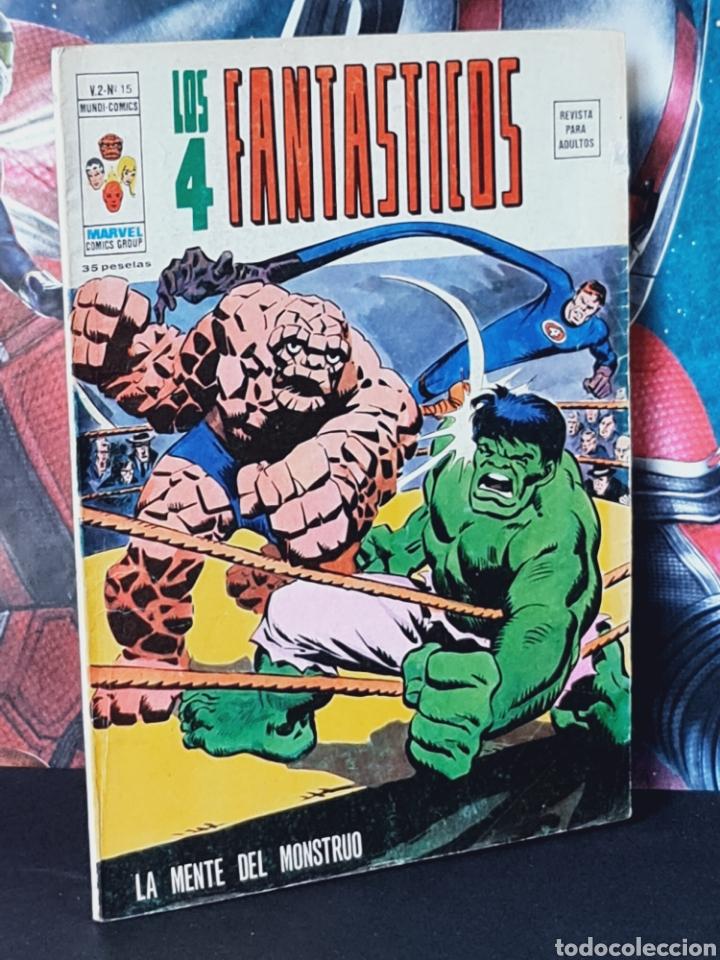 BUEN ESTADO LOS 4 FANTASTICOS 15 VOL II MUNDI COMICS EDICIONES VERTICE (Tebeos y Comics - Vértice - 4 Fantásticos)