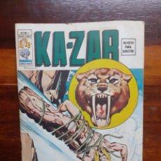 Cómics: KA-ZAR. MUNDI COMICS V.2 - N°3. EDICIONES VERTICE. 1974. BUEN ESTADO.. Lote 275730863