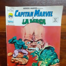 Cómics: CAPITAN MARVEL Y LA MASA. MUNDI COMICS V.2 - N°7. EDICIONES VERTICE. 1974. BUEN ESTADO.. Lote 275732118