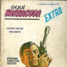 Cómics: AQUI BARRACUDA Nº 3 - PAGADO CON LA MUERTE - VERTICE 1968. Lote 275790248