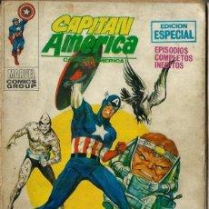 Cómics: CAPITAN AMERICA Nº 15 - LOCURA ENTRE LAS ESCORIAS - VERTICE V.1 1971 - MUY DIFICIL. Lote 275790618