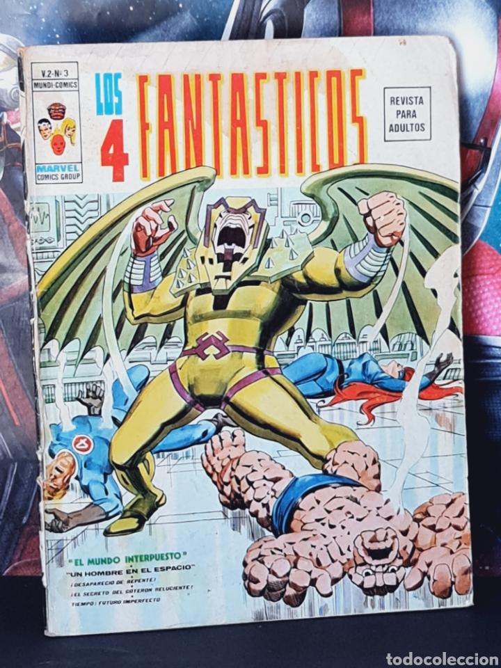 LOS 4 FANTASTICOS 3 VOL II NORMAL ESTADO MUNDI COMICS EDICIONES VERTICE (Tebeos y Comics - Vértice - 4 Fantásticos)