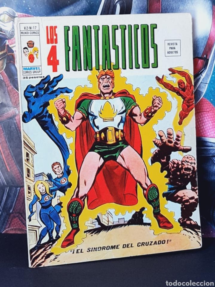 BUEN ESTADO LOS 4 FANTASTICOS 17 VOL II MUNDI COMICS EDICIONES VERTICE (Tebeos y Comics - Vértice - 4 Fantásticos)