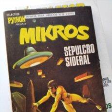 Cómics: (VERTICE -V.1) PYTHON ( MIKROS )Nº: 19- IBERO MUNDIAL DE EDICIONES.- EXCELENTE!!!. Lote 276156258