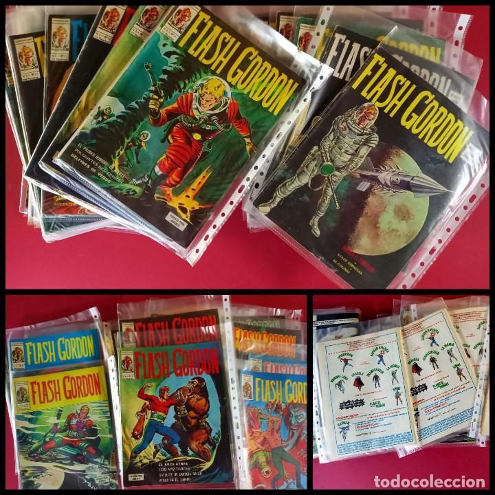 FLASH GORDON -V1- VERTICE COMPLETA- 44 NUMEROS- (Tebeos y Comics - Vértice - Flash Gordon)
