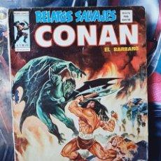 Cómics: RELATOS SALVAJES 25 CONAN EL BARBARO NORMAL ESTADO MUNDI COMICS EDICIONES VERTICE. Lote 276271593