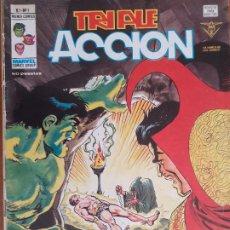 Cómics: TRIPLE ACCIÓN VOL. 1 Nº 1. MATO EN NOMBRE DE LAS ESTRELLAS. VERTICE 1979. Lote 276394818
