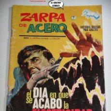Cómics: ZARPA DE ACERO Nº 9, GRAPA, 10 PTAS, ED. VÉRTICE, AÑO 1964. Lote 276395848
