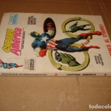 Cómics: CAPITÁN AMÉRICA 10, 1970, VERTICE, BUEN ESTADO. Lote 276396058