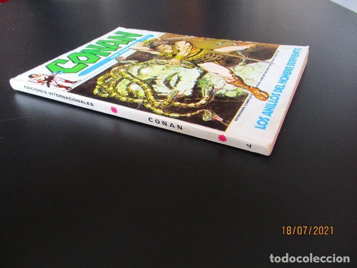 Cómics: CONAN (1972, VERTICE) 4 · XII-1972 · LOS ANILLOS DEL HOMBRE SERPIENTE - Foto 2 - 276402618